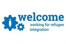 logo riconoscimento welcome. unhcr