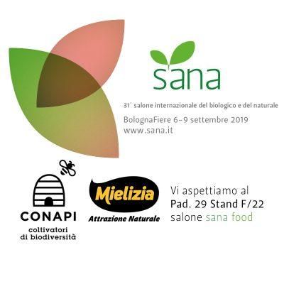 Conapi partecipa alla fiera Sana 2019 di Bologna