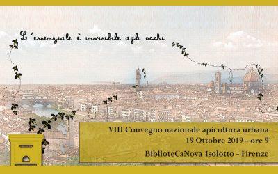 VIII Convegno Nazionale Apicoltura Urbana con il sostegno di Conapi