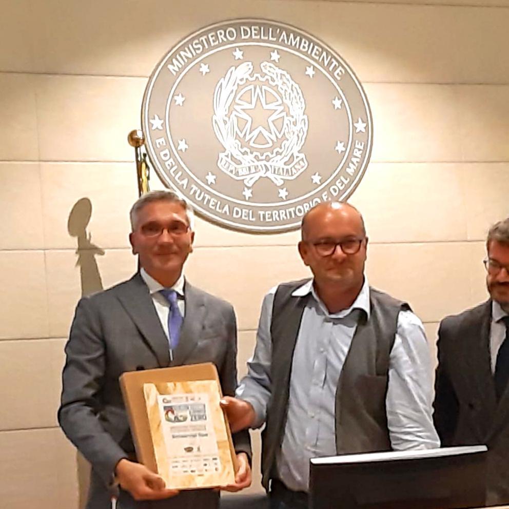 Conapi Mielizia - Premiazione vincitori Vivere A Spreco Zero 2019 (Roma)