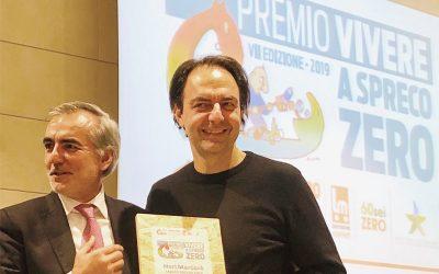 """Il sostegno di Conapi al premio """"Vivere a Spreco Zero"""" 2019"""