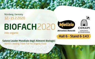 Conapi partecipa a Biofach 2020, salone internazionale degli alimenti biologici