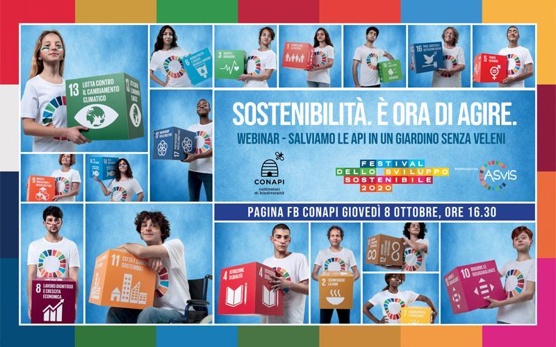 Conapi partecipa al Festival dello Sviluppo Sostenibile