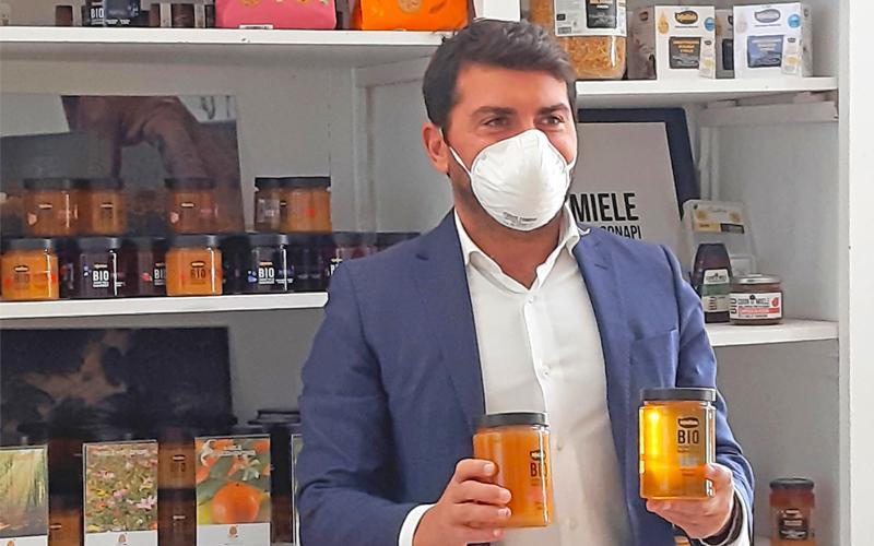 L'assessore regionale Alessio Mammi visita Conapi