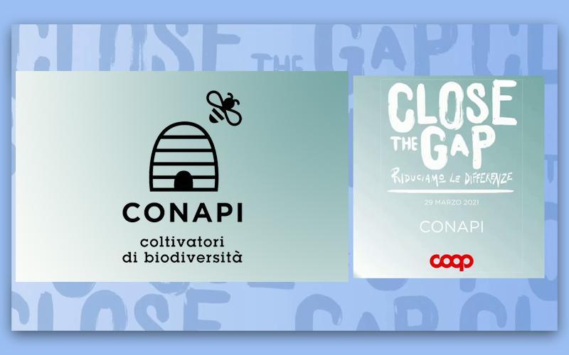 """Conapi premiata da Coop Italia per la campagna """"Close the Gap – Riduciamo le differenze"""""""