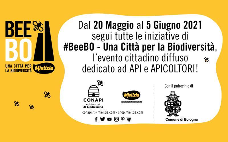 CONAPI-Mielizia presenta #BeeBO - Una Città per la Biodiversità: Bologna amica delle api e dell'ambiente.