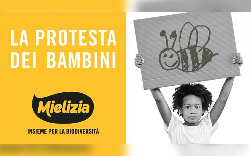 """CONAPI – Il primo spot """"La protesta dei bambini"""" per il marchio premium Mielizia"""